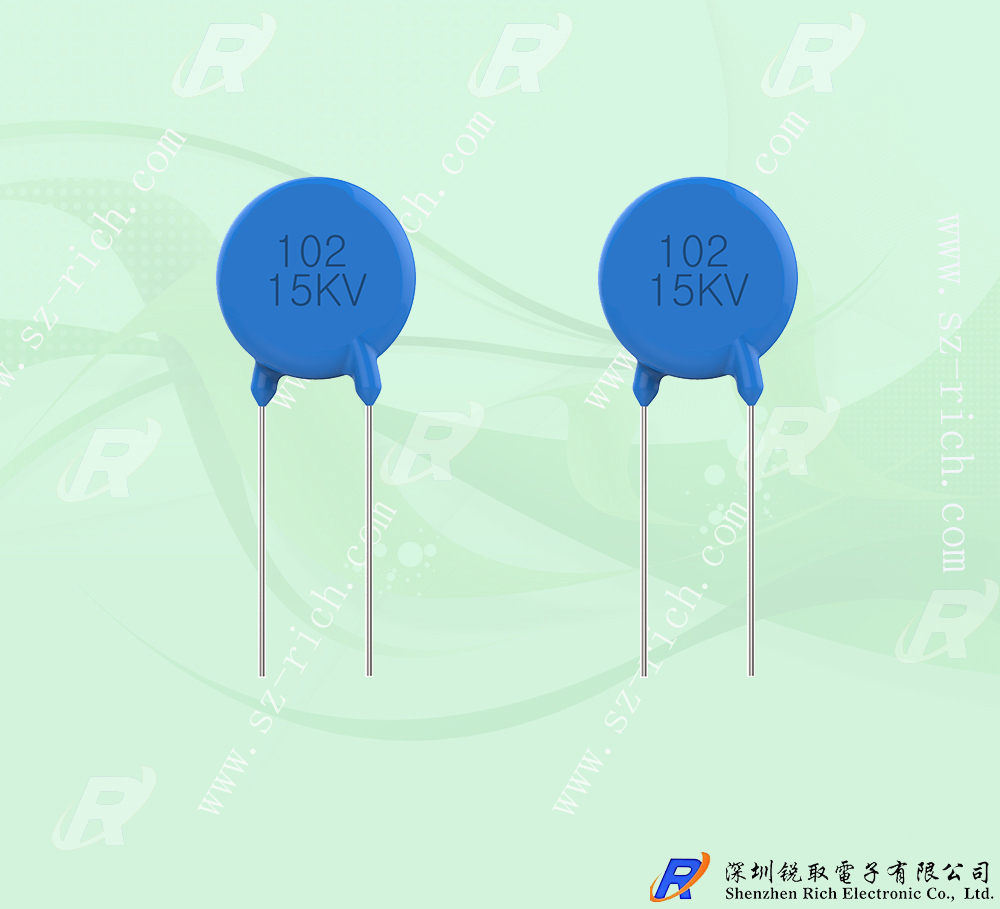 Ultra-high pressure ceramics capacitors